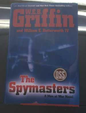 The Spymasters By Web Griffin XDS Book Cover